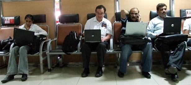 Pune Airport, India. 2007