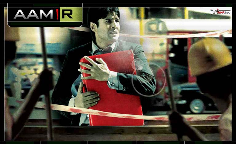Aamir, movie poster