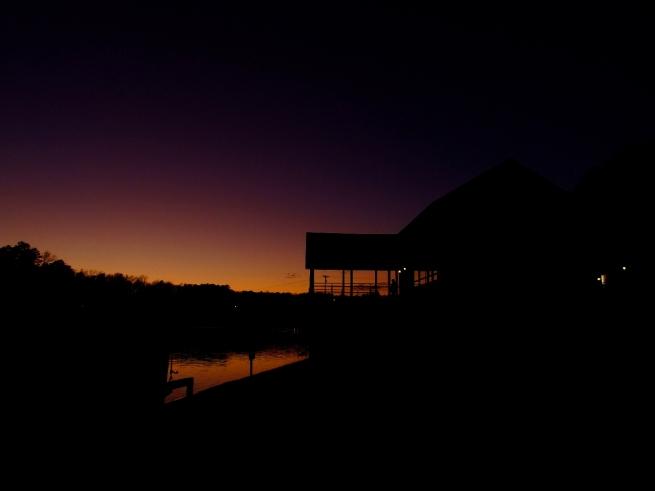 Lake Johnson, Raleigh, NC, USA, December-2008