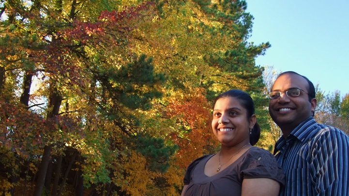 Keta and Baiju, Fall 2008