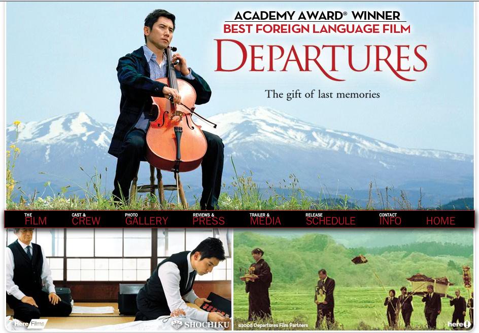 Okuribito movie